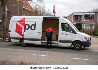 DPD Van At Amsterdam The Netherlands 2019