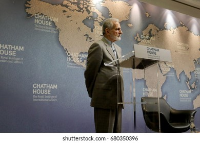 Dr Kamal Kharazi, former Iranian minister of foreign affairs, speaking at Chatham House on 19 July 2017.