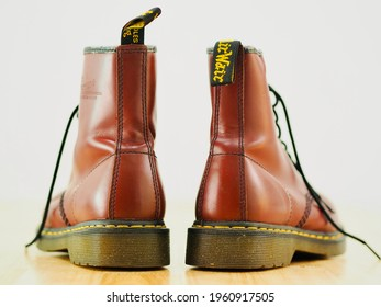 Dr Martin Shoes Red Cherry from year 2015