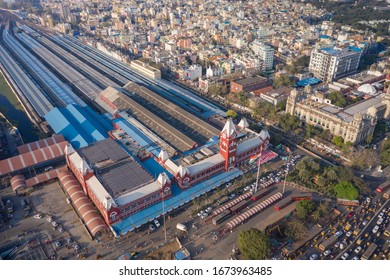 Dr. MGR Central Railway Station formerly known as Madras Central / Chennai Central. Chennai. Tamilnadu