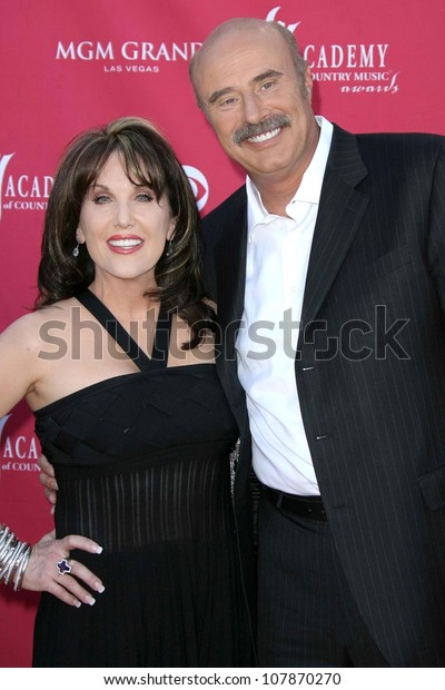 Dr Phil Mcgraw Robin Mcgraw Arriving Stock Photo (Edit Now