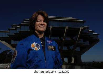 Dr. Sally Ride, the first US female astronaut