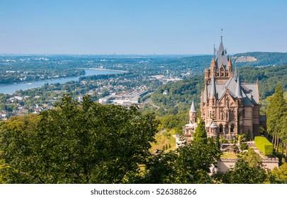 Drachenburg Castle at Bonn, Germany