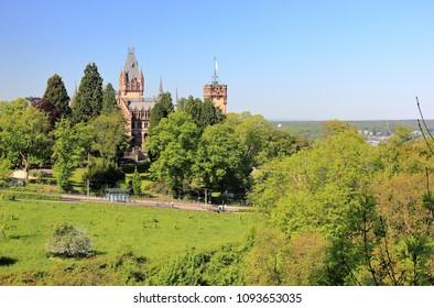 Drachenburg Castle near Bonn, Germany.