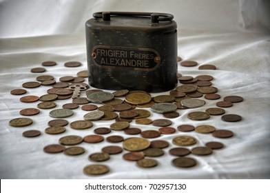 drachmas, old Greek coins before Euro/Coins
