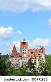 Dracula Castle in Bran, Brasov, Transylvania, Romania