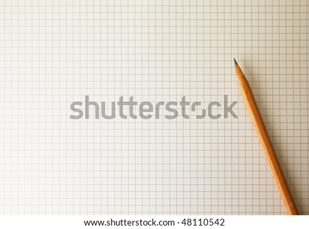 drafting paper graph paper pencil under stock photo edit now