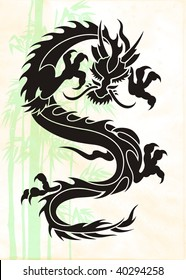 Dragon background