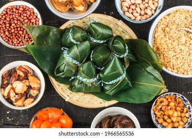 Dragon Boat Festival Chinese rice dumpling meat zongzi