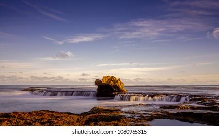 Dragon Head Rock on the Mornington Peninsula Australia