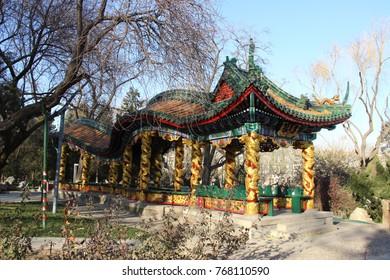 Dragon pavilion - Longtan Park, Beijing
