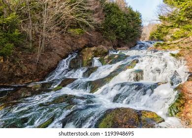 Dragon's Head Waterfall (Ryuzu Falls), Nikko, Tochigi, Japan
