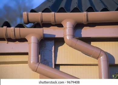 Roof Drain Pipe Images Stock Photos Amp Vectors Shutterstock