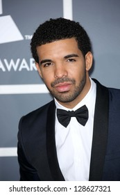 Drake at the 55th Annual GRAMMY Awards, Staples Center, Los Angeles, CA 02-10-13