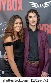 """Drake Jacobson attends  Skyline Entertainment's  """"The ToyBox"""" Los Angeles  Premiere at Laemmle's NoHo 7, North Hollywood, California on September 14th, 2018"""
