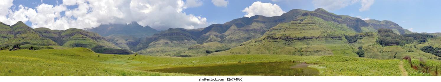 Drakensberg Mountain Panorama, South Africa