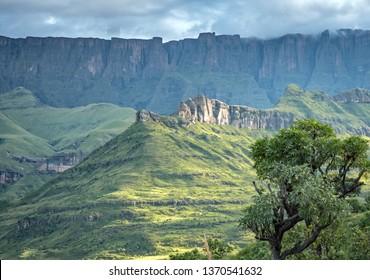 Drakensberg in South Africa & Lesotho