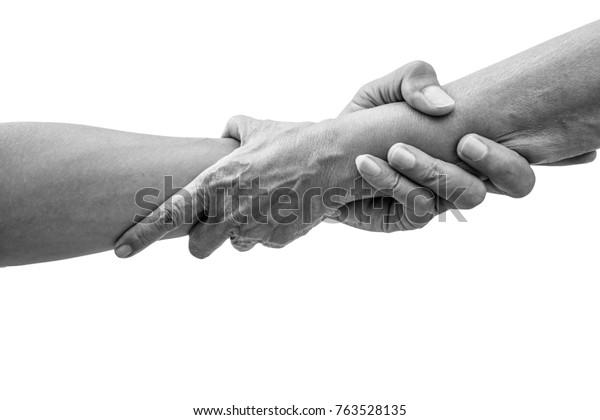 Drželi se za ruce