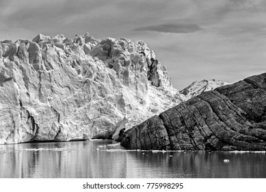 Dramatic Black and White Photos of Glaciers in Patagonia Argentina and Chile