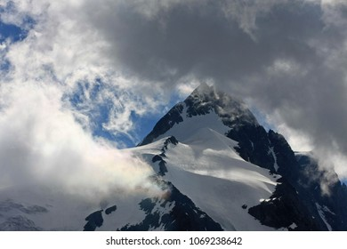 Dramatic clouds over the peak of the Grossglockner