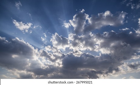 Dramatic clouds and sky