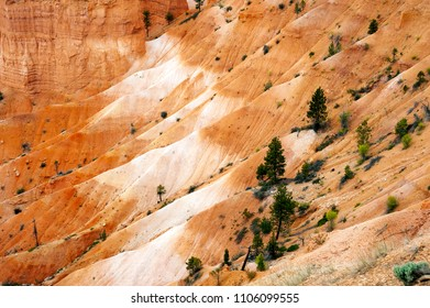 Dramatic details in Bryce Canyon National Park Utah