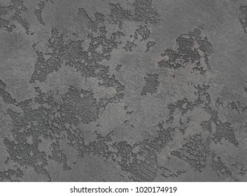 Dramatic grey grunge seamless stone texture venetian plaster background decor. Gray seamless stone venetian plaster texture. Cracked grungy concrete cement venetian plaster decoration.
