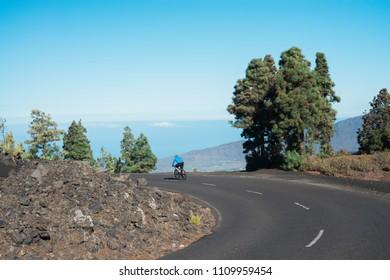 Dramatic landscape in La Palma, Canary Islands