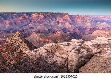 dramatic landscape photo of the Grand Canyon National Park in Arizona,USA