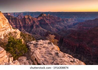 dramatic landscape photo  of the Grand Canyon National Park,Arizona