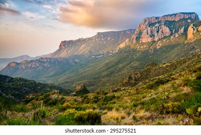 Dramatic Mountains at Big Bend National Park