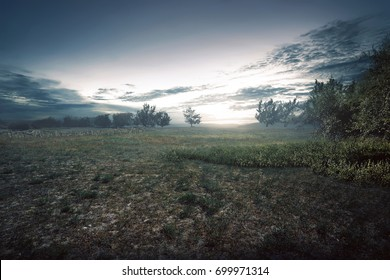 Image result for creepy sunset meadows
