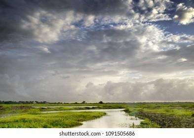 DRamatic skay landscape, Vasai india