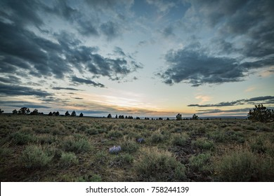Dramatic skies on Steens Mountain