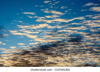 Dramatic sky as a background