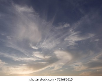 Dramatic sky background with cloud,dust sky