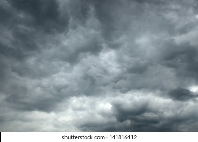 a dramatic sky scape of stormy skies
