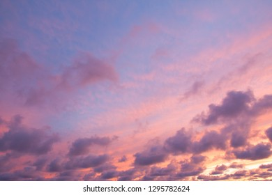 dramatic sky at sunset, abstract background
