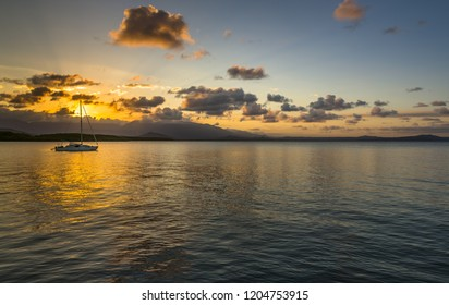 dramatic sunset Port Douglas Coral sea tropical Daintree reflections barrier reef Queensland