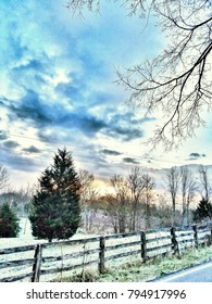 Dramatic Winter Landscape