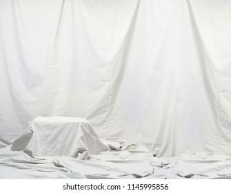 Drape Cloth Backdrop isolated