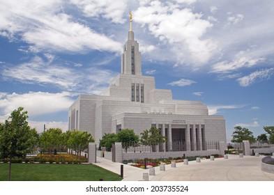Draper, Utah temple of the LDS church