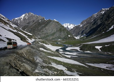 "Drass Valley is in the state of Jammu and Kashmir. Drass sector is often dubbed as "" the gateway to Ladakh"", India."