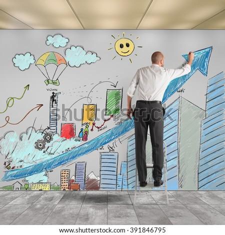 Draw Innovative Ideas Stock Photo Edit Now 391846795 Shutterstock