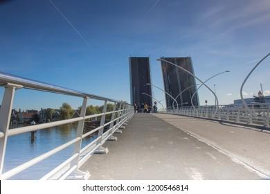 Drawbridge in Holland Europe