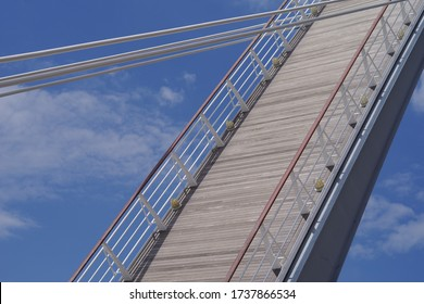 A drawbridge in Kitakyushu, Japan