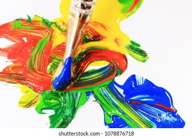 Drawing or Paint brush, Creative thinking, Think outside the box, Art therapy