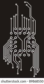 Drawing PCB (printed circuits board)