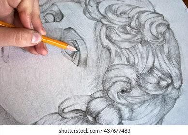 Child Drawing Pencil Art