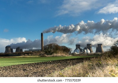 Drax Power Station, Cooling Towers, Biomass Plant, Drax, Selby, North Yorkshire